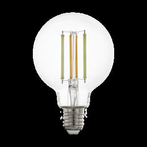 LED fényforrás CCT E27 G80 6W 2200-6500K 806lm - Eglo - 12575