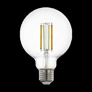 LED fényforrás CCT E27 G95 6W 2200-6500K 806lm - Eglo - 12576