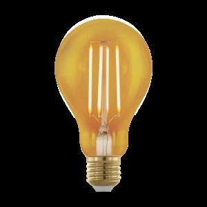 LED 4W/817 E27 320lm normál A75 forma dimmelhető 1700K - LED filament - Eglo - 11691