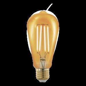 LED 4W/817 E27 320lm vintage ST64 forma dimmelhető 1700K - LED filament - Eglo - 11696