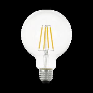 LED Filament E27 G95 6W 2700K 806lm 3xdimm - Eglo - 11752