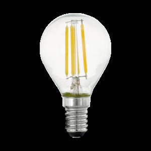 LED Filament E14 P45 4W 2700K 470lm Stepdim - Eglo - 11754
