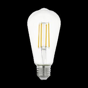 LED Filament E27 ST64 7W 2700K 806lm - Eglo - 11757