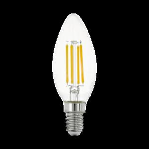 LED 4W/827 E14 gyertya forma 2700K - LED filament - Eglo - 11759