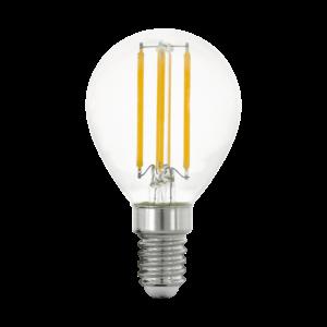 LED Filament E14 P45 4W 2700K 470lm - Eglo - 11761
