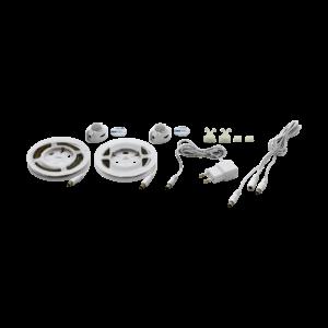 LED szalag 36X0,1W+36X0,1W műanyag fehér PIDIO - Eglo - 97029