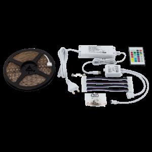 LED szalag RGB 20W átlátszó 5000mmX10mmX3mm - LED STRIPES-FLEX - Eglo - 97928
