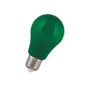 LED 2W E27 Színes zöld A60 IP44 Bailey