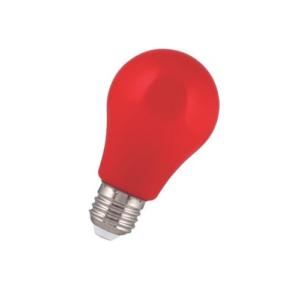 LED 2W E27 Színes piros A60 IP44 Bailey