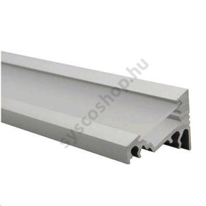 LED alumínium profil (Profilo C) felületre csavarozható, döntött Kanlux - 19162