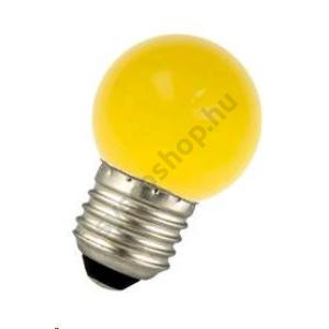 LED 1W E27 Színes gömb sárga Bailey - 80100035279