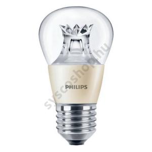 LED 6W-40W/827/E27 Kisgömb DimTone P48 CL Master - Philips - 929001140702