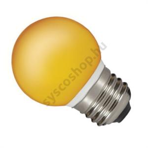 LED 0.5W E27 ToLEDo gömb narancs Sylvania