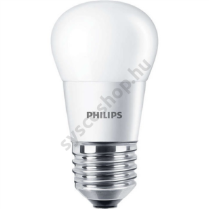 LED 5.5W-40W/827/E27 Kisgömb ND P45 FR CorePro - Philips - 929001175402