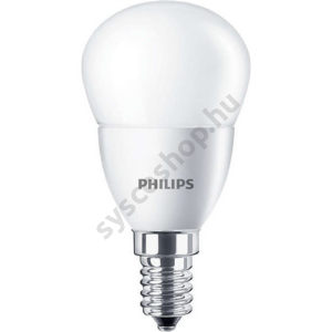 LED 5.5W-40W/840/E14 Kisgömb ND P45 FR CorePro - Philips - 929001205902
