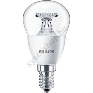 LED 5.5W-40W/840/E14 Kisgömb ND P45 CL CorePro - Philips - 929001206102