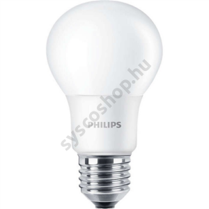LED 7.5W-60W/840/E27 Normál forma ND A60 CorePro - Philips - 929001234702
