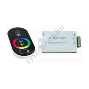 LED szalag TOUCH RGB vezérlő 144W 12V rádiós - VT-3312