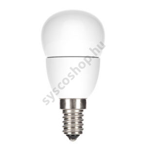 LED 4.5W/827/E14 100-240V P45/FR 1/6 Start Spherical - GE/Tungsram - 84560