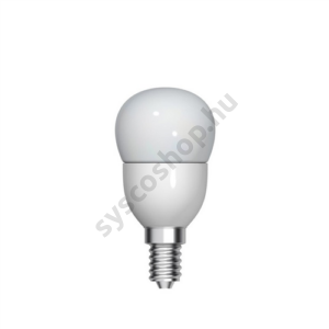 LED 3.5W/827/E14 100-240V P45/FR 1/6 Start Spherical - GE/Tungsram - 93012863