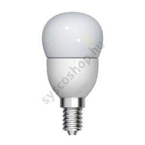 LED 5W/827 B22 gömb 100-240V P45/FR 1/10 Start Spherical - GE/Tungsram - 93039442