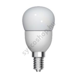 LED 5W/827 E27 gömb 100-240V P45/FR 1/10 TU Start Spherical - GE/Tungsram - 93039444