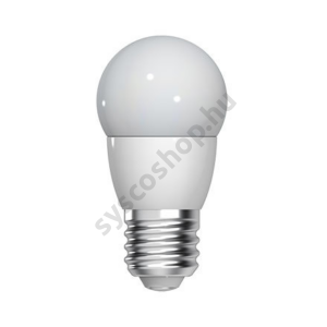 LED 4W/827 E27 220-240V P45/FR Energy Smart - Crown Deco Dimmable - GE/Tungsram - 93030259