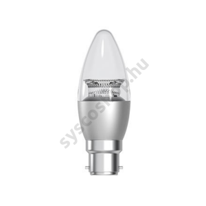 LED 6W/827/B22 220-240V B35/CLS 1/6 Energy Smart - Crown Deco Dimmable Candle - GE/Tungsram - 93030119