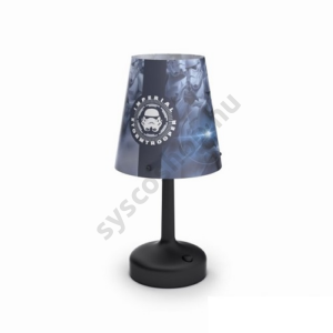 LED-es asztali lámpa Disney STAR WARS Birodalmi Rohamosztagos 3XAA Philips - 71796/30/16