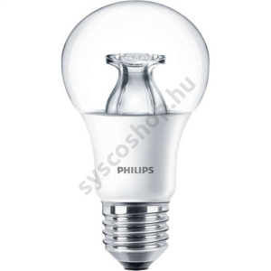 LED 8,5W-60W/827/E27 Normál forma DimTone A60 CL Master - Philips - 929001150932