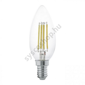LED 4W/827 E14 gyertya forma 2700K - LED filament - Eglo - 11496