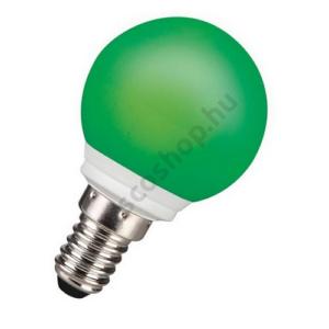 LED 0.5W E14 színes gömb zöld 25000h ToLEDo Sylvania