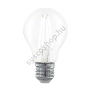 LED 6W/827 E27 806lm normál A60 forma dimmelhető 2700K - LED filament - Eglo - 11701