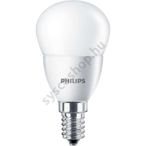 LED 5.5W-40W/865/E14 Kisgömb ND P45 FR CorePro - Philips - 929001394602