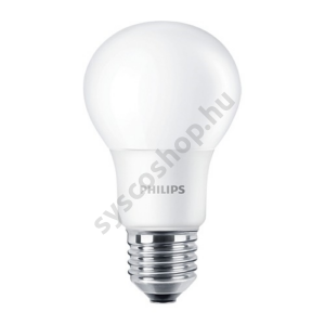 LED 7.5W/865/E27 - Normál Forma 7,5-60W A60 865 - CorePro ND - Philips - 929001304832