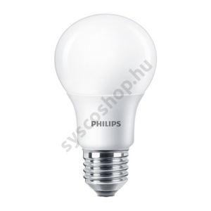 LED 8.5W/827/E27 - Normál Forma D 8,5-60W A60 - CorePro - Philips - 929001352502