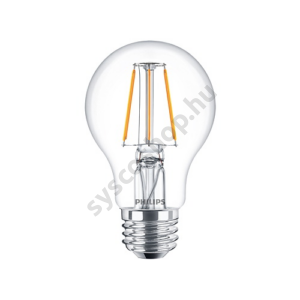 LED 4W/827/E27 - Normál Forma A60 4-40W - FILAMENT Classic ND - Philips - 929001237102
