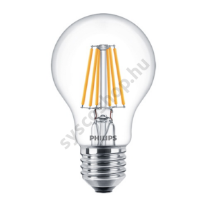 LED 5.5W/827/E27 - Normál Forma 5,5-40W A60 827-822 CL - FILAMENT Classic DT - Philips - 929001333602