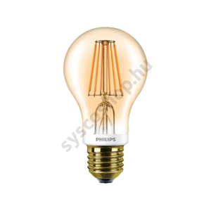 LED 7.5W/820/E27 - Normál Forma D 7,5-48W A60 CL - FILAMENT Classic D - Philips - 929001228102