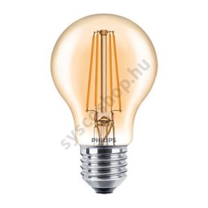 LED 7.5W/820/E27 - Normál Forma D 7,5-48W A60 CL - FILAMENT Classic D - Philips - 929001332902