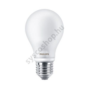 LED 4,5W/827/E27 - Normál Forma 4,5-40W A60 300° FR - Classic ND - Philips - 929001242982