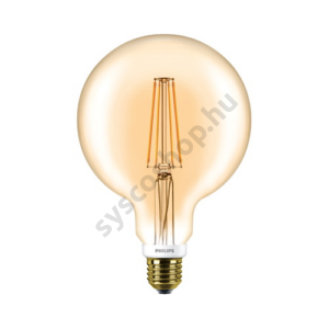 LED 7W/820/E27 - Gömb D 7-50W G120 GOLD - FILAMENT Classic D - Philips - 929001229102