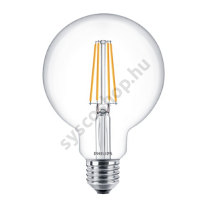 LED 7W/827/E27 - Gömb 7-60W G93 CL - FILAMENT Classic ND - Philips - 929001387902