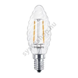 LED 2W/827/E14 - Gyertya 2-25W ST35 CL - FILAMENT Classic ND - Philips - 929001238502