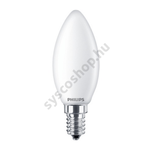 LED 2.2W/827/E14 - Gyertya 2,2-25W B35 FR - FILAMENT Classic ND - Philips - 929001345202