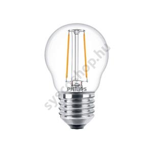 LED 2W/827/E27 - LEDluster 2-25W P45 CL - FILAMENT Classic ND - Philips - 929001238702