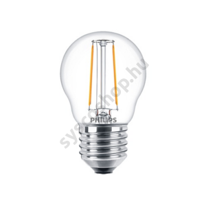 LED 2W/827/E27 - LEDluster 2-25W P45 CL - FILAMENT Classic ND - Philips - 929001238702