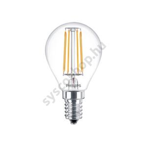 LED 4W/827/E14 - LEDluster 4-40W P45 CL - FILAMENT Classic ND - Philips - 929001258102