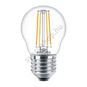 LED 4W/827/E27 - LEDluster 4-40W P45 CL - FILAMENT Classic ND - Philips - 929001258202