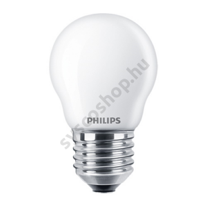 LED 4.3W/827/E27 - LEDluster 4,3-40W P45 FR - FILAMENT Classic ND - Philips - 929001345702
